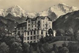 Wilderswyl Hotel Schönbühl - 1926 - Real Photo - Schild-Bichsel - Wilderswil - BE Berne