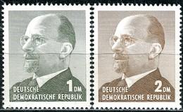 DDR - Mi 968 / 969 - ** Postfrisch (B) - 1-2DM     Walter Ulbricht - DDR