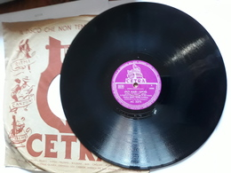 Cetra   -   1957.  Serie AC  Nr. 3273  -  Gino Latilla. Carla Boni. Cinico Angelini - 78 Rpm - Schellackplatten
