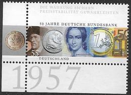 2007 Deutschland  Allem. Fed. Mi. 2618 **MNH  EUL   50 Jahre Deutsche Bundesbank. - Ungebraucht