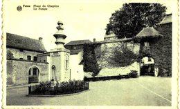 FOSSES-LA VILLE...place Du Chapitre   La Pompe. - Fosses-la-Ville