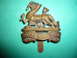 Insigne Anglais Royal Berkshire  1914 - 1914-18