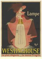 Product Postcard Lampe Westinghouse 1912 - Reproduction - Pubblicitari