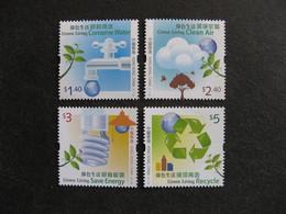 HONG-KONG : TB Série N° 1509 Au N° 1512, Neufs XX. - 1997-... Région Administrative Chinoise