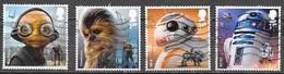 GB - Star Wars - Adhésifs - Oblitérés - Lot 1180 - 1952-.... (Elizabeth II)