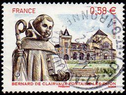 Oblitération Cachet à Date Sur Timbre De France N° 4802 - Bernard De Clairvaux - Fontaine-lès-Dijon - France