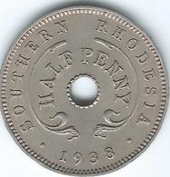 Southern Rhodesia - George VI - 1938 - ½ Penny - KM14 - Rhodesien