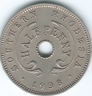 Southern Rhodesia - George VI - 1938 - ½ Penny - KM14 - Rhodésie