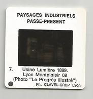 Diapositive Lyon Montplaisir 69 Usine Lumière 1899 - Diapositives