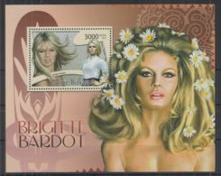 H611. Guinea-Bissau - MNH - 2012 - Famous People - Brigitte Bardot - Bl. - Célébrités