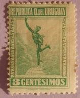 "URUGUAY  YT 240  NEUF*    "" SERIE COURANTE"" ANNEE 1921/1922 RARE - Uruguay"