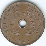 Southern Rhodesia - George VI - 1944 - ½ Penny - KM14a - Rhodésie