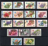 Bermuda 1970 QE11 Flowers Definitive Set. Fine Used. - Bermuda