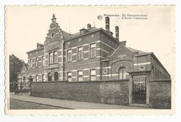 Hoegaarden De Gemeenteschool Oude Postkaart - Hoegaarden