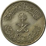 Monnaie, Saudi Arabia, UNITED KINGDOMS, 25 Halala, 1/4 Riyal, 1976/AH1397, TTB - Arabia Saudita