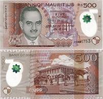 MAURITIUS       500 Rupees       P-66[c]       2017       UNC - Mauritius