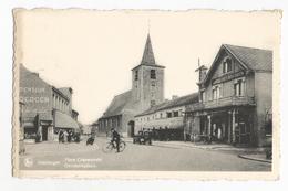 Keerbergen Gemeenteplaats Hotel Het Moleken Oude Postkaart - Keerbergen