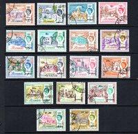 Bermuda 1970 QE11 Decimal Currency Definitive Set. Fine Used. - Bermuda