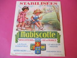Buvard/Biscotterie De L'Ile De France/MABISCOTTE/Les Pêcheurs/Stabilisées/MITRY-MORY/(S&M)/Vers 1940-60  BUV433 - Zwieback