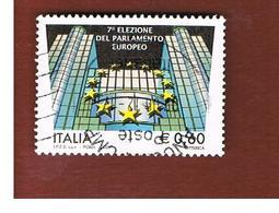 ITALIA REPUBBLICA  -   2009   ELEZIONI EUROPEE    -   USATO  ° - 6. 1946-.. Repubblica