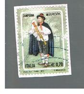 ITALIA REPUBBLICA  -   2014   - EUROPA     -   USATO  ° - 6. 1946-.. Repubblica