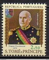 Sao Tome Et Principe - 1970 - Yvert N°  409 ** - Visite Du Président Américo Thomas - St. Thomas & Prince