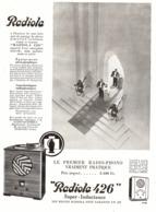 "PUB RADIO-PHONO   "" RADIOLA  426 ""  1932 ( 1 ) - Technical"