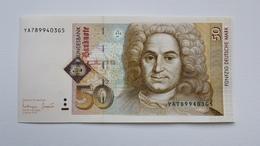 50 DM 1996 Ersatznote YA, ,  UNC - FDS - Kassenfrisch, Free Shipping Ww - 50 Deutsche Mark