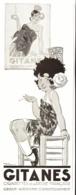 """PUB  CIGARETTES """" GITANES """"  Par  René VINCENT   1932  ( 6 ) - Tabac (objets Liés)"""