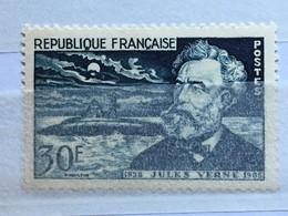 Timbres France YT 1026 (**) 1955 MNH Jules Verne Et Le Nautilus 30f (côte 9 Euros) – 74d - Frankreich