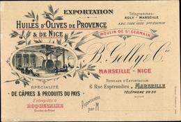 Cp Exportation, Huiles D'Olives De Provence Et De Nice, Marseille, Rue Espérandieu 6 - Ansichtskarten