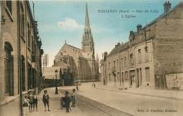 ESTAIRES RUE DE LILLE L'EGLISE - France