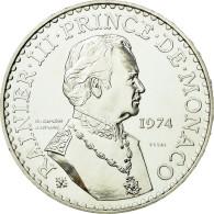 Monnaie, Monaco, 50 Francs, 1974, ESSAI, SUP+, Argent, Gadoury:MC162, KM:E66 - Monaco