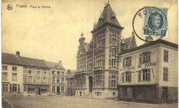 FOSSES-LA VILLEplace Du Marché Petit Coin Abimé. - Fosses-la-Ville