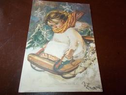 B717   Illustrazione Bambino Viaggiata - Bambini
