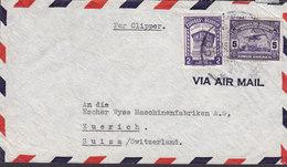 Ecuador 'Per Clipper' MAX MÜLLER & Cia GUAYAQUIL 19? Cover Letra ZÜRICH Suisse Switzerland - Ecuador
