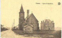 FOSSES-LA VILLE   église De Bambois. - Fosses-la-Ville