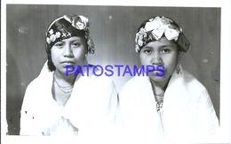 107757 MEXICO G. ZAMORA VERACRUZ COSTUMES TWO WOMAN POSTAL POSTCARD - Messico