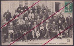 ALESIA : La Commission Des Fouilles D'ALESIA Et Les Ouvriers . - France