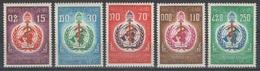 Laos - YT 177-181 ** - 1968 - Organisation Mondiale De La Santé - OMS - Laos