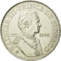 Monnaie, Monaco, Rainier III, 50 Francs, 1974, SUP, Argent, Gadoury:MC162 - Monaco