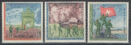 Laos - YT 174-176 ** - 1968 - Journée De L'Armée - Laos