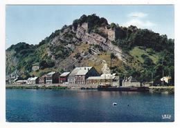08 Givet N°190.52 La Meuse Et Le Fort De Charlemont En 1970 Belle Péniche - Givet