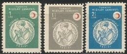 1958 TURKEY RED CRESCENT ISTANBUL FLORENCE NIGHTINGALE INSTITUTION MNH ** - 1921-... République
