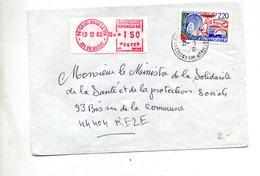 Lettre Cachet Saint Maur Des Fosses  + Vignette - Marcophilie (Lettres)