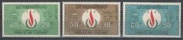 Laos - YT 171-173 ** - 1968 - Droits De L'Homme - Laos
