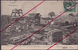 ALESIA : Vue Des Fouilles D'ALESIA En Juin 1906 . Puits Gallo Romain . - France