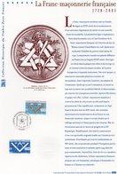 """France 2003 Document """"la Franc-maçonnerie Française"""" 02642 - Freimaurerei"""