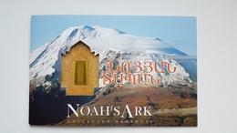 Armenien P. NEW 500 Dram Noah' Ark  Commemorative Folder,  UNC - FDS - Kassenfrisch, Free Shipping Word Wide - Arménie