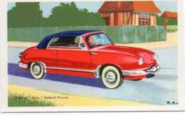 CPSM   Voiture Cabriolet Dyna  Panhard - Passenger Cars